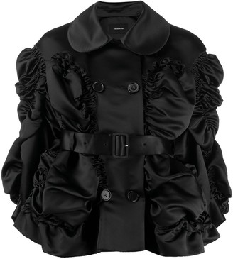 Simone Rocha ruched jacket