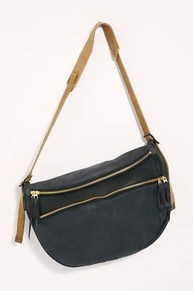 Delle Cose Lucia Leather Messenger Bag