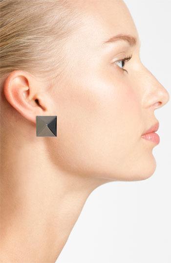 Vince Camuto 'Basics' Medium Pyramid Stud Earrings