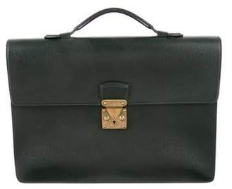 Louis Vuitton Taiga Serviette Kourad Briefcase