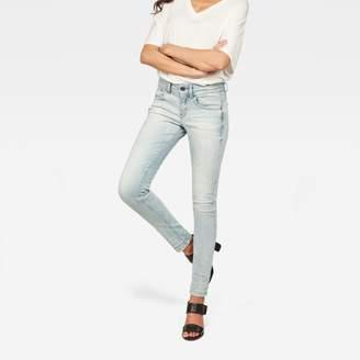 G Star Lynn Mid Waist Skinny Jeans