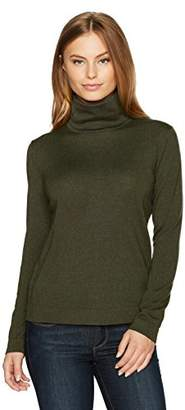Pendleton Women's Petite Size Merino Turtleneck Sweater