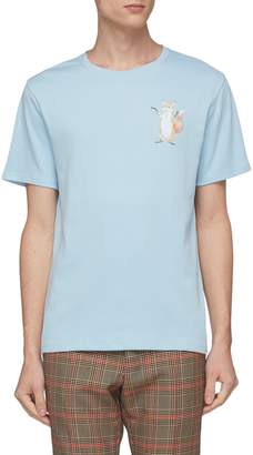 Acne Studios Hippo graphic print T-shirt