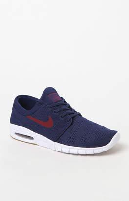 Nike SB Stefan Janoski Max Blue & Red Shoes