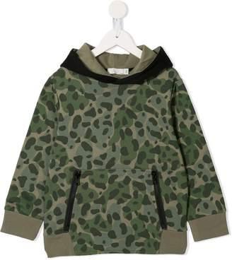 Stella McCartney camouflage print hoodie