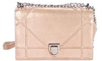 Christian Dior Metallic Diorama Bag