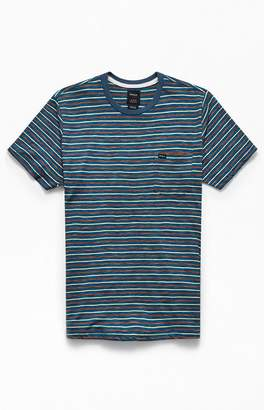 RVCA Fox Striped Pocket T-Shirt