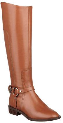 Nine West Batley Leather Riding Boots