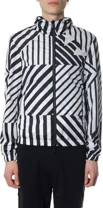Emporio Armani Black, White & Blue Reversible Jacket
