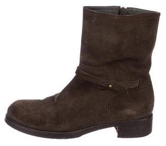 Alberto Fermani Suede Ankle Boots