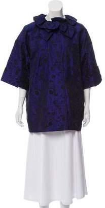St. John Embroidered Lightweight Jacket