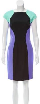 Versace Short Sleeve Knee- Length Dress