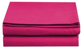 Elegant Comfort 1500 Thread Count Egyptian Quality 1-Piece Fitted Sheet, Full Size, Pink