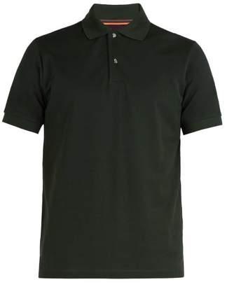 Paul Smith - Charm Button Cotton Pique Polo Shirt - Mens - Green