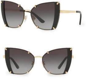 Dolce & Gabbana DG2214 53MM Cat Eye Sunglasses