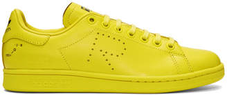 Raf Simons Yellow adidas Originals Edition Stan Smith Sneakers