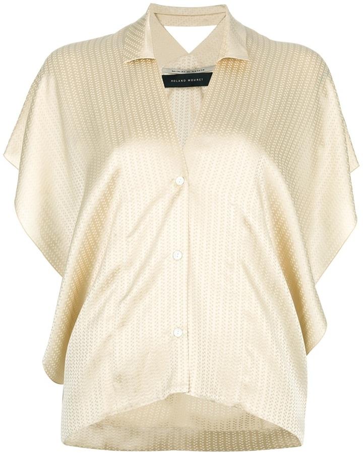 Roland Mouret silk blouse