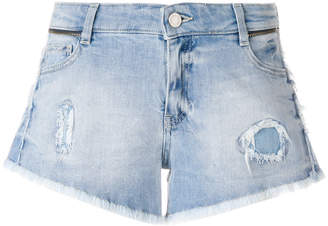 Zadig & Voltaire (ザディグ エ ヴォルテール) - Zadig & Voltaire fitted denim shorts