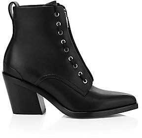 Rag & Bone Women's Ryder Zip-Up Leather Boots