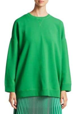 Valentino Ribbed-Trim Sweatshirt