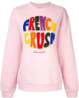Être Cécile French Crush sweatshirt