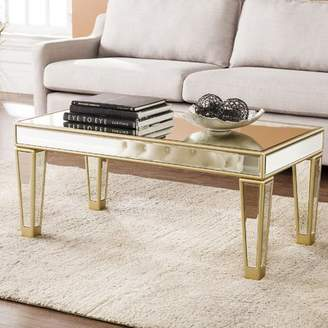 House of Hampton Paulornette Mirrored Coffee Table