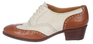 Ralph Lauren Leather Semi Pointed-Oxfords