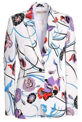 Emilio Pucci Floral-Print Cotton-Blend Blazer