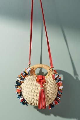 Anthropologie Mariana Mini Round Crossbody Bag