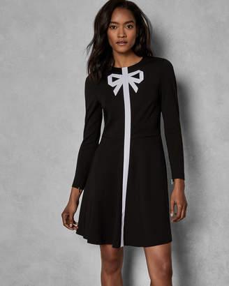 fb5fcebf2 Black Bow Dress Ted Baker - ShopStyle Canada