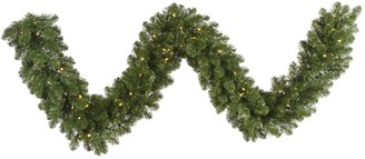 Vickerman 25-ft. Pre-Lit Grand Teton Artificial Christmas Garland