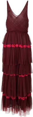 Pinko layered ruffled dress