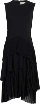 Jason Wu Wool Layered Pleated Day Dress