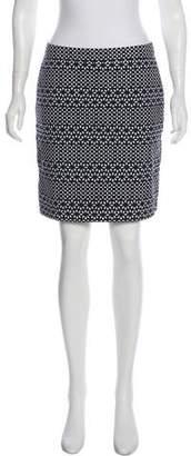 Brooks Brothers Floral Mini Skirt