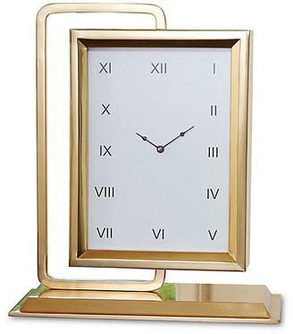 """Global Views 19"""" """"Time to Reflect"""" Clock with Mirror"""