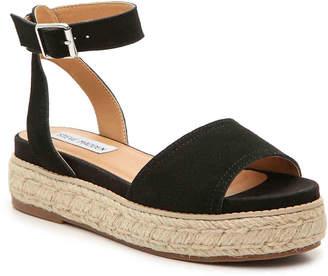 0d455c736cf Steve Madden Black Adjustable Strap Women s Sandals - ShopStyle