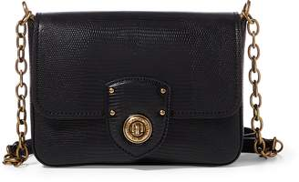 Ralph Lauren Faux-Lizard Crossbody Bag