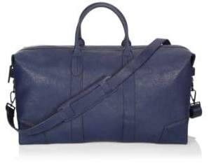 Uri Minkoff Zippered Leather Duffel Bag