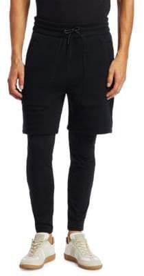 Saks Fifth Avenue x Anthony Davis Saks Fifth Avenue X Anthony Davis Knit Shorts with Leggings