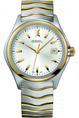 Ebel Mens New Wave 18ct Gold Watch 1216202