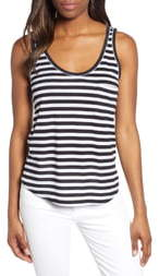 Gibson x Hi Sugarplum! Summerland Scooped Neck Pocket Tank Top