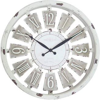 Co Firstime and Antique Plaques Wall Clock