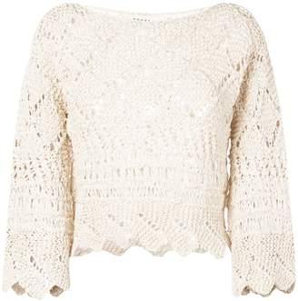 Oneonone crochet blouse