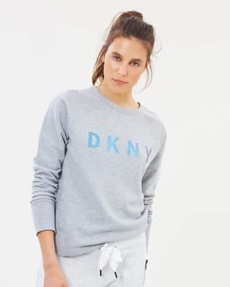 DKNY Pullover Logo Sweatshirt