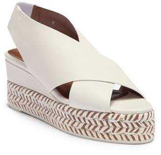 Aquatalia Jaida Soft Nappa Wedge Platform Sandal