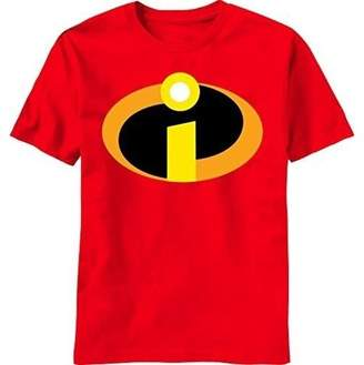 Basicon Movies & TV Incredibles Logo Big Men's Graphic T-shirt, Up To 3XL