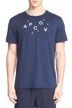 Outdoor Voices A.P.C. Designer Austin Crew Neck Logo Tee