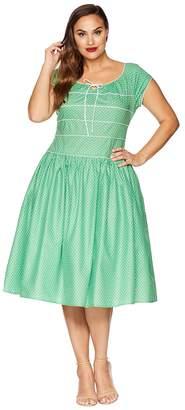 Unique Vintage Plus Size Jeanie Swing Dress Women's Dress