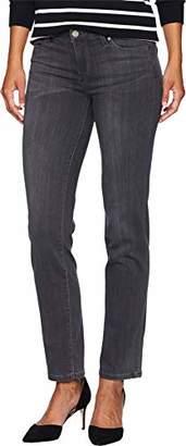 Liverpool Jeans Company Women's Petite Sadie Straight in Silky Soft Stretch Denim
