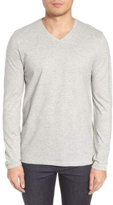 BOSS Tyson Long Sleeve V-Neck T-Shirt
